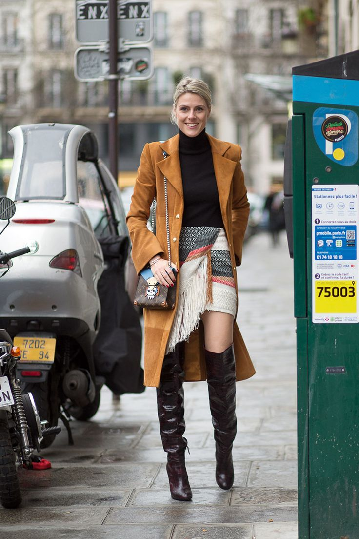 The best street style looks spotted today at Couture Week in Paris: