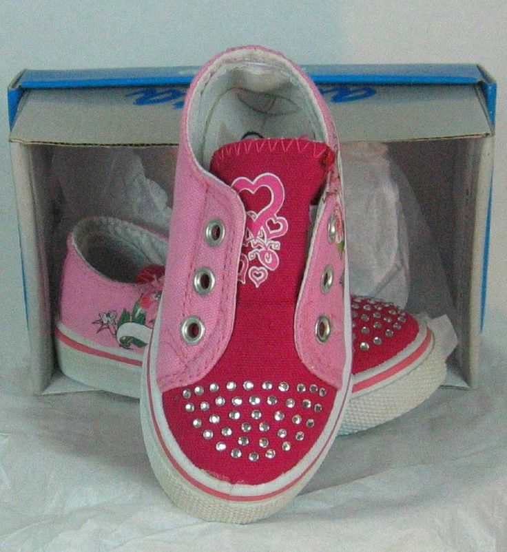 Ameta size 2 Fushia girls tennis shoe no laces new Canvas Athletic #Ameta #Athletic