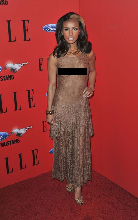 See through T-Shirt | Celebrities In See-Through Clothing ...