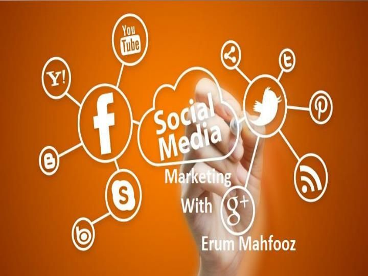 Socail Media Marketing With Erum Mahfooz