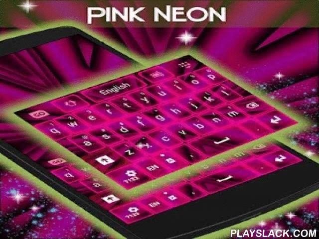 """Pink Neon Keyboard GO  Android App - playslack.com ,  Moe van uw oude, normaal lettertype? Wij hebben de oplossing voor. Bekijk onze nieuwe aangepaste lettertype!Koopt tegen een zeer lage prijs door te klikken op """"Apply thema + Premium Lettertype"""" en ondersteuning van de ontwikkeling van nieuwe functies voor u.U kunt nog steeds het thema met een normaal lettertype toepassen door te klikken op de tweede knop.Roze Neon Keyboard GO is de nieuwste roze toetsenbord uit de T-Me Studios! Meer…"""