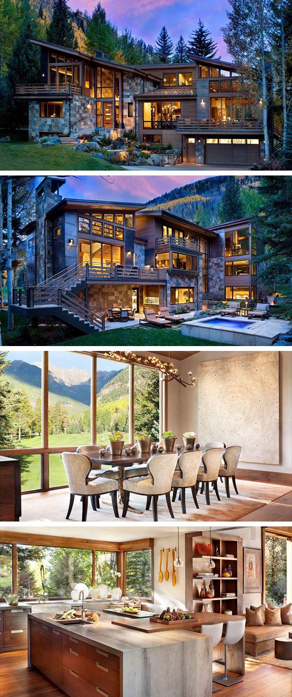 Ptarmigan Residence de Suman Architects em Vail, Colorado   – Nice Living