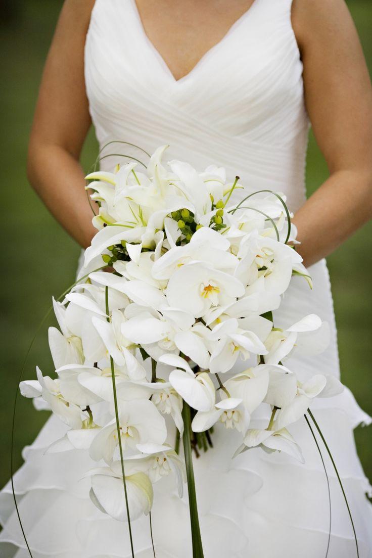 Favoloso Oltre 25 fantastiche idee su Bouquet da sposa con orchidee su  YT01