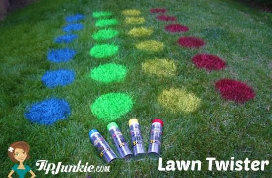 Lawn twister or regular twister are praxis activities because it requires the individual to plan his movements and correctly positioning the limbs on the colors.