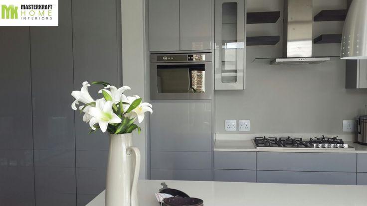 Modular Kitchen installed by MasterKraft Home Interiors