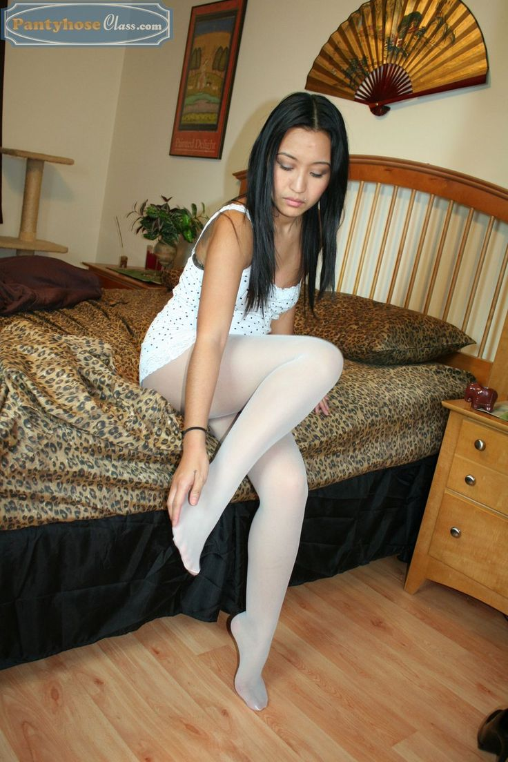 In White Pantyhose Sexy 52