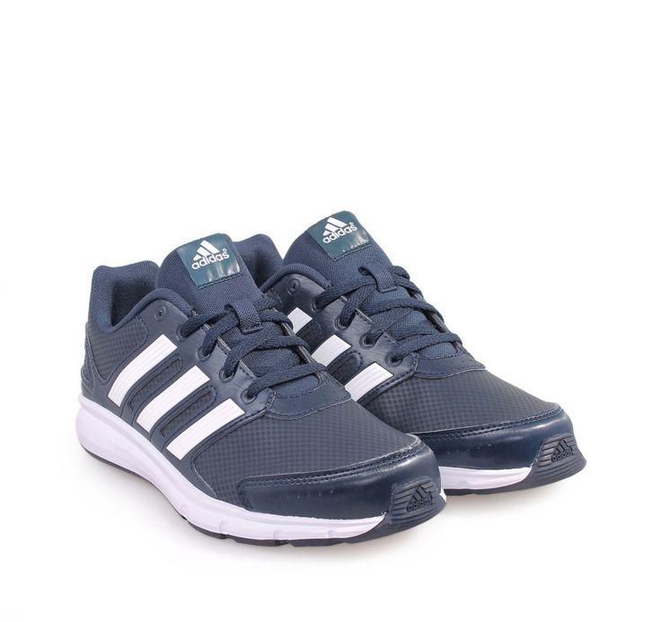 Adidas IK SPORT K Unisex Kid's Navy Sports Sneakers. Παιδικά μπλε αθλητικά  παπούτσια με κορδόνια