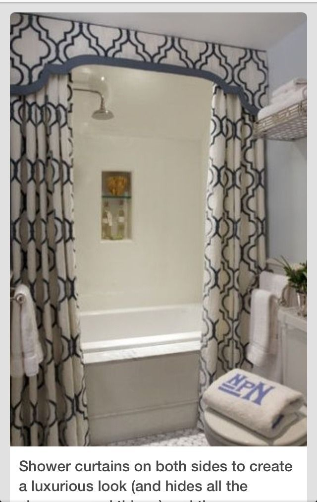 Bathroom Exhaust Fan >> Bathroom shower at ceiling height?? (potential exhaust fan issues????) shower curtain valance ...