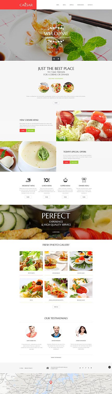 Cafe and Restaurant website inspirations at your coffee break? Browse for more Responsive JavaScript Animated #templates! // Regular price: $69 // Sources available: .HTML,  .PSD #Cafe and Restaurant #Responsive JavaScript Animated