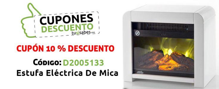 CUPONES DESCUENTO: ESTUFA ELÉCTRICA DE MICA