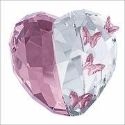 NEW 2014 ( IN STOCK ) Swarovski Love Heart Light Amethyst medium