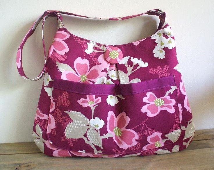 (9) Name: 'Sewing : Pleated Hobo Bag
