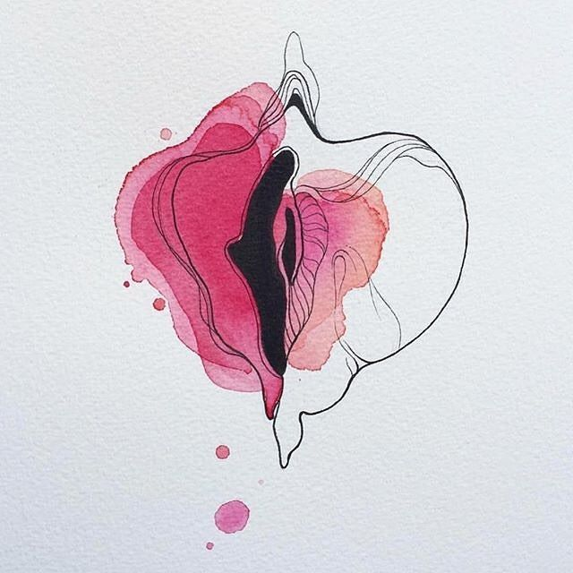We are in love with the delicate colors and shape art by @artlindacatarina. …