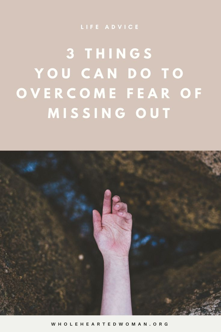 3 Things You Can Do To Overcome Fear Of Missing Out | Life Advice | Personal Growth | Mindset | Life Imrovement