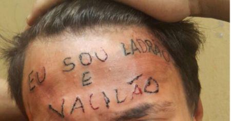Jovem é torturado por tatuador