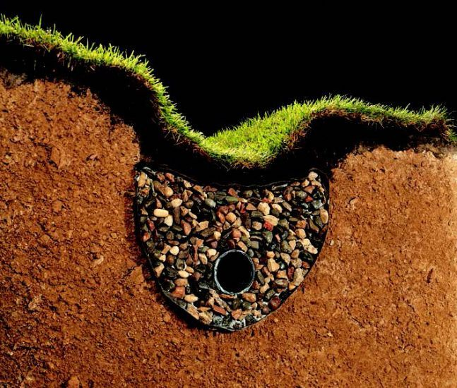 Even severe #drainage problems can be fixed with this #DIY. #HomeBegins