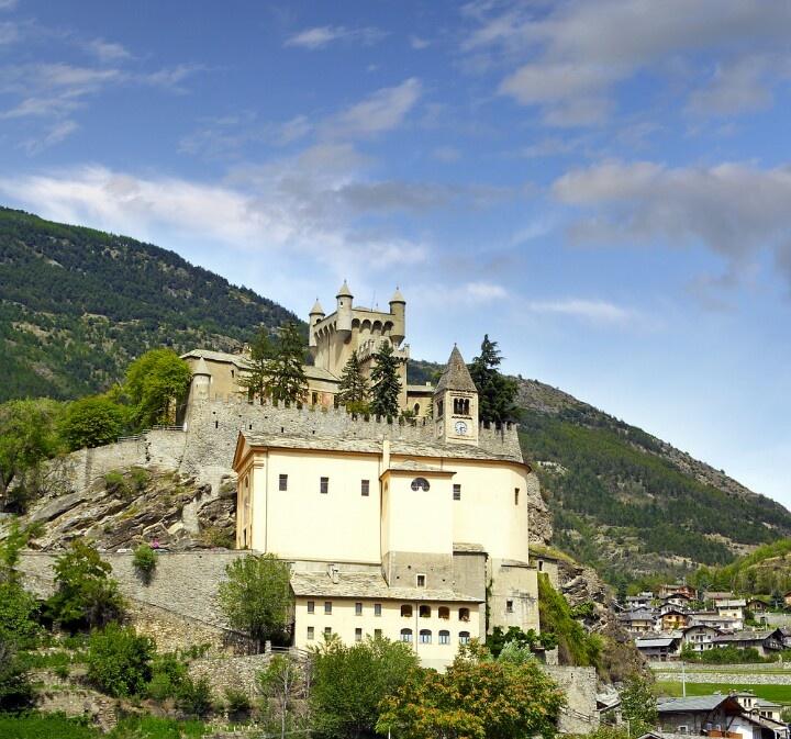 Castello di Saint-Pierre, valle d' Aosta