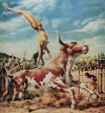 dangerous bull leaping game