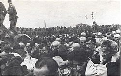 Partial 'liquidation' of the Bialystok Ghetto August 1943