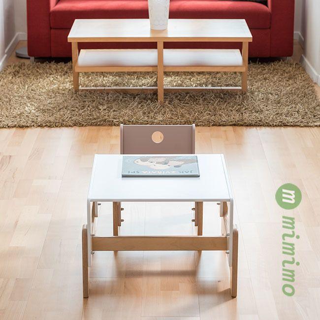 Rostoucí dětský nábytek. Židle a stůl mimimo. Pro děti již od 6 měsíců... #rostoucinabytek #nabytek #deti #zidle #stul #detskynabytek #mimimo #detskypokoj
