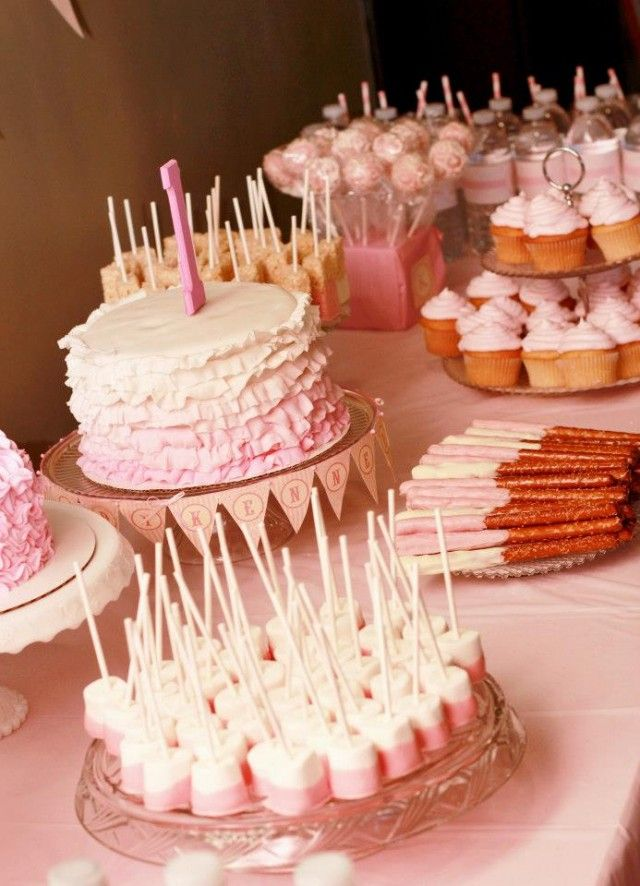 Sweet Shoppe Birthday Party Cake And Desserts