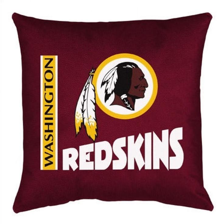 Sports Coverage Washington Redskins Toss Pillow - NFLRedToss