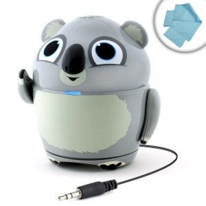 GOgroove: Speaker Portable Multimedia System Groove Pal Koala with USB Rechargeable Battery Works great with the LeapPad3 , LeapPad Ultra , LeapsterGS Explorer , LeapReader and More LeapFrog Learning and Gaming Tablets. http://awsomegadgetsandtoysforgirlsandboys.com/gogroove/ GOgroove: Speaker Portable Multimedia System Groove Pal Koala with USB Rechargeable Battery