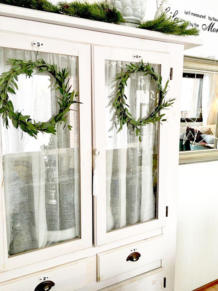 Joulun eucalyptys kranssilla- tuoksu on aina parasta