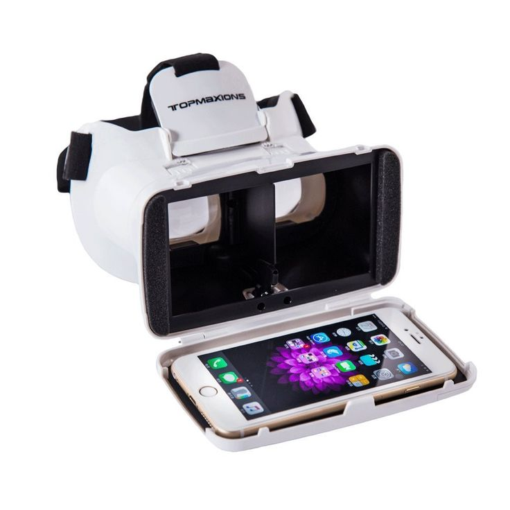 Virtual Reality 3D Headset for Mobile Phone or 3D Movies