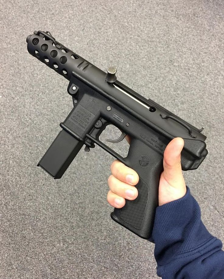 Intratec Firearms TEC-9 .9mm Pistol With 32-Round Clip