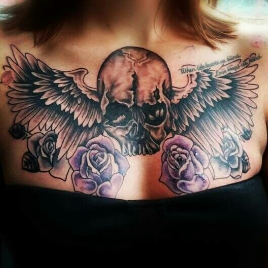 65 best my next tatt images on pinterest projects for Chest mural tattoos