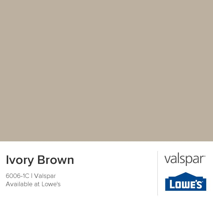 Ivory Brown From Valspar Paint Pinterest Young Adult Bedroom Kitchen Colors And Offices