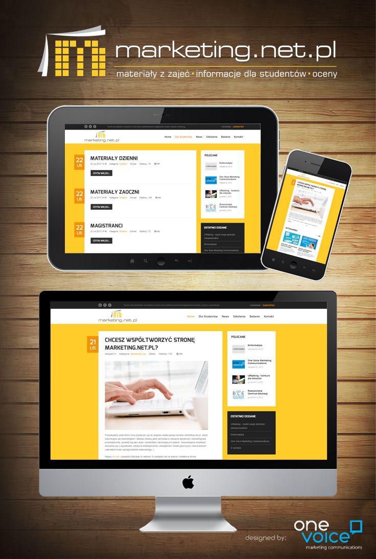 Responsive web page