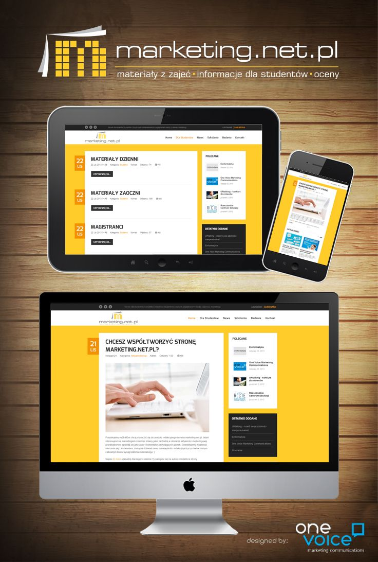 Responsive web page