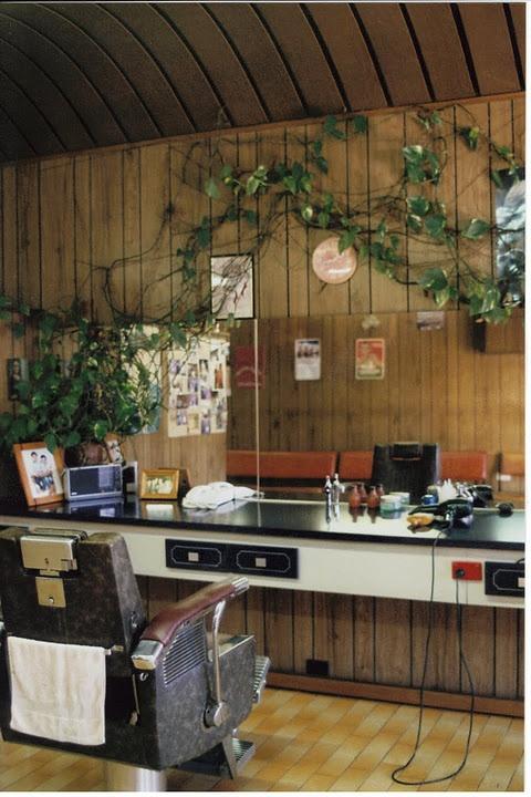 This old barbershop