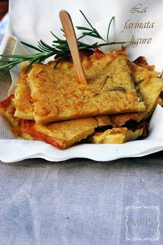 farinata...soooo good! made of chickpeas, similar to a crepe