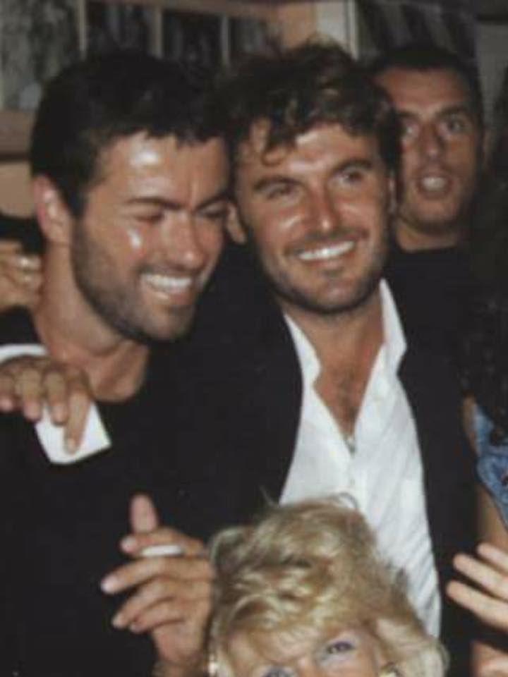 With Tony Garcia | George Michael