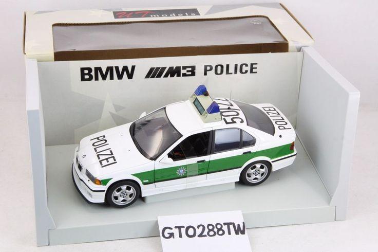 UT Models 1:18 scale BMW E36 M3 sedan 1997 - Germany Police Car(Polizei) #UTmodels #BMW