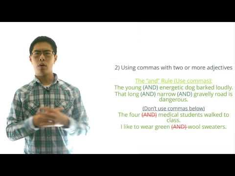 ACT English Prep Tips (Grammar) - 4 Major Comma Rules to Know - YouTube