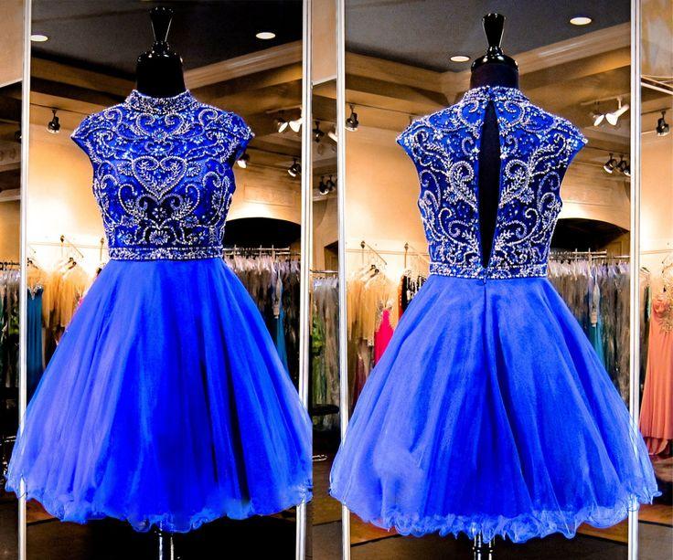 Homecoming Dress, Blue Dress, Royal Blue Dress, Short Dress, Short Sleeve Dress, Cap Sleeve Dress, Junior Dress, Royal Blue Short Dress, Short Homecoming Dress, Dress Blue, Blue Homecoming Dress, Royal Blue Homecoming Dress, Short Blue Dress