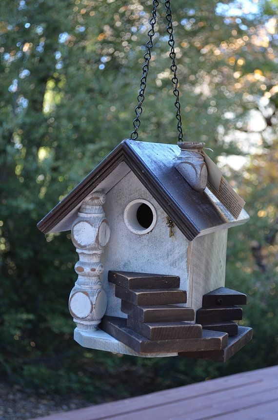 Hey, I found this really awesome Etsy listing at https://www.etsy.com/listing/165804746/birdhouse-hanging-garden-outdoor-yard