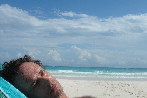 bello Gus♥ en la playa!!