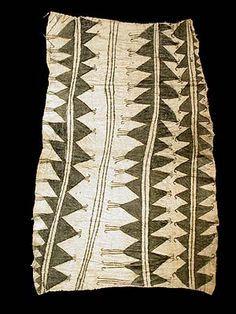Mbuti Pygmy Bark Cloth 76