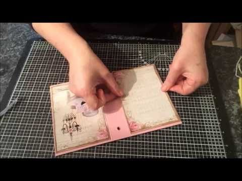 Enchanted Rose Journal Guest DT Ephemera's Garden - YouTube