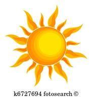 Sonne, stilisiert Clipart | Sonne zeichnung, Sonne malen ...
