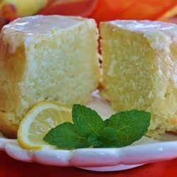 Lemon-Buttermilk Pound Cake with Aunt Evelyn's Lemon Glaze - Allrecipes.com