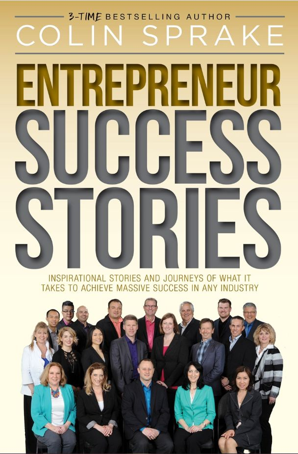 Our owner, Mike April, just co-wrote a book that is out TODAY! The amazing book is called Entrepreneur Success Stories! You can pre-order yours now!! #YYC #Calgary #EntrepreneurSuccessStories #esuccessstories #bestseller http://www.amazon.ca/Entrepreneur-Success-Stories-Colin-Sprake/dp/069244081X