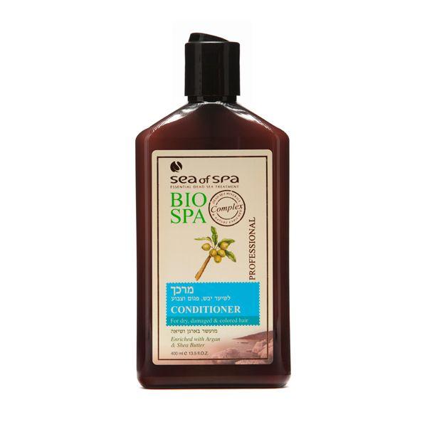 Odżywka do włosów suchych, zniszczonych i farbowanych z olejkiem arganowym i masłem shea. Odżywka do włosów wzbogacona jest w naturalne i aktywne minerały z Morza Martwego, olejek arganowy i masło z dodatkiem shea, dzięki czemu zapewnia pomoc w leczeniu zniszczonych włosów. Odżywka nawilża włosy i chroni je przed szkodliwymi warunkami atmosferycznymi. Pozostawia na włosach delikatny i przyjemny zapach, dzięki czemu włosy są zdrowe i lśniące.
