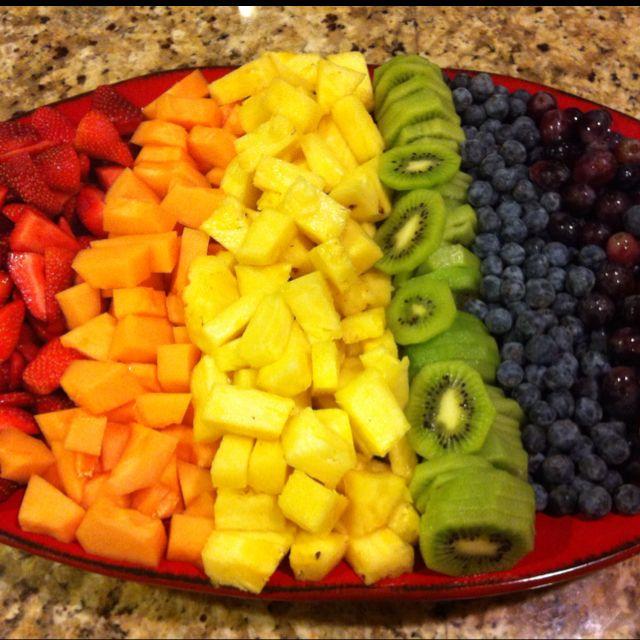 Rainbow Fruit Tray