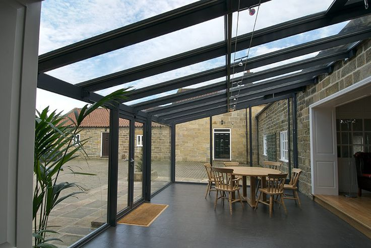Lean To Conservatories | Modern, Glass Lean To Extensions | Apropos Conservatories